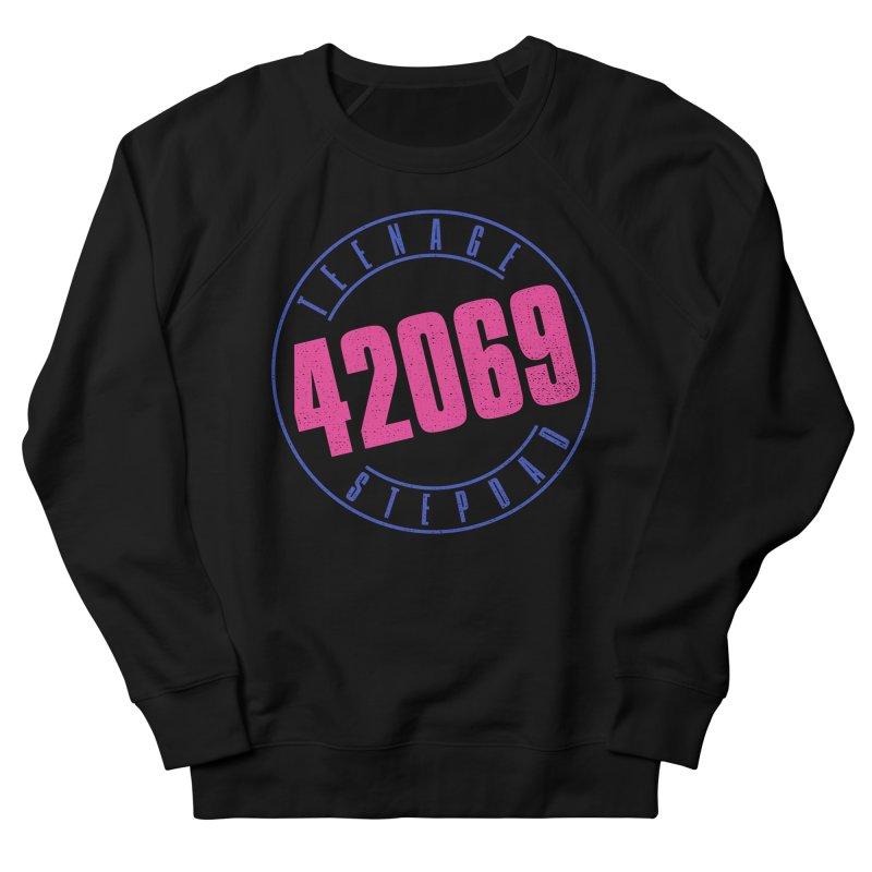 42069 Men's French Terry Sweatshirt by Teenage Stepdad
