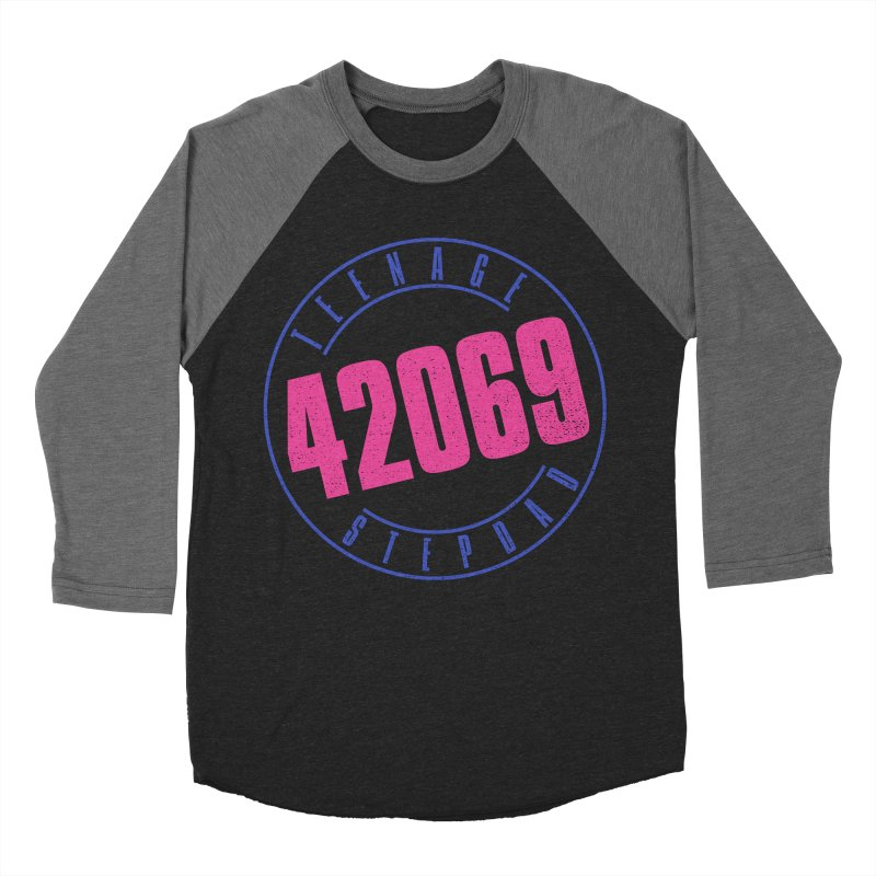 42069 Men's Baseball Triblend Longsleeve T-Shirt by Teenage Stepdad
