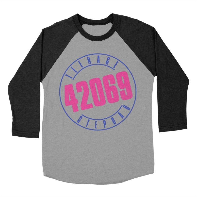 42069 Men's Baseball Triblend Longsleeve T-Shirt by Teenage Stepdad