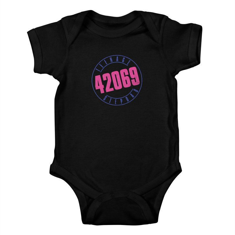 42069 Kids Baby Bodysuit by Teenage Stepdad