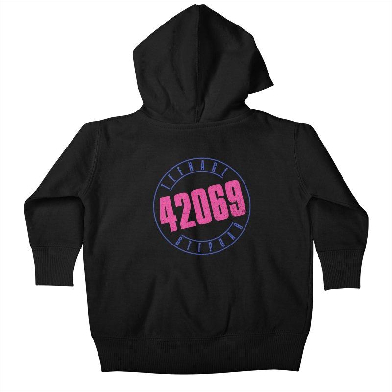 42069 Kids Baby Zip-Up Hoody by Teenage Stepdad