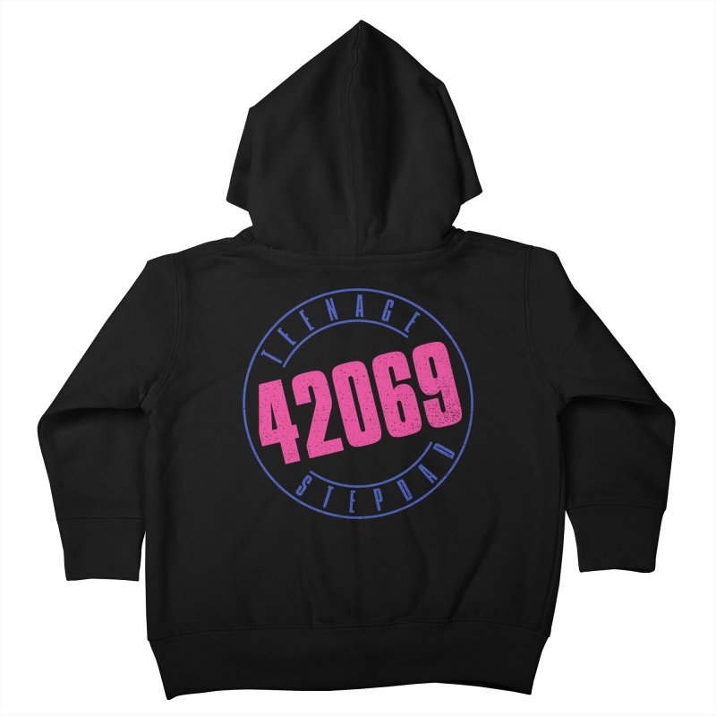 42069 Kids Toddler Zip-Up Hoody by Teenage Stepdad
