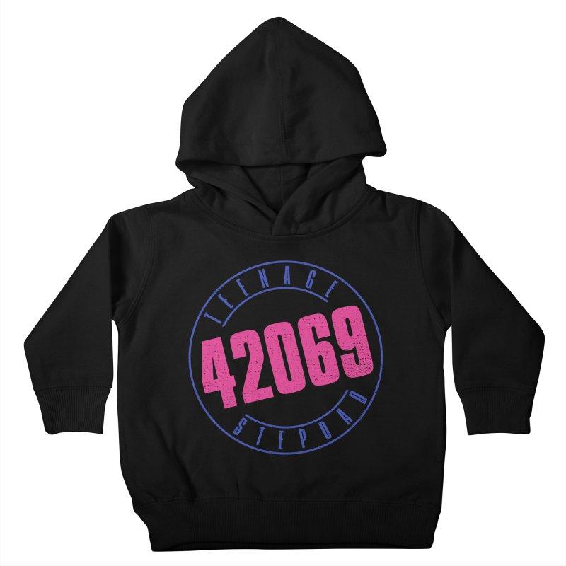 42069 Kids Toddler Pullover Hoody by Teenage Stepdad