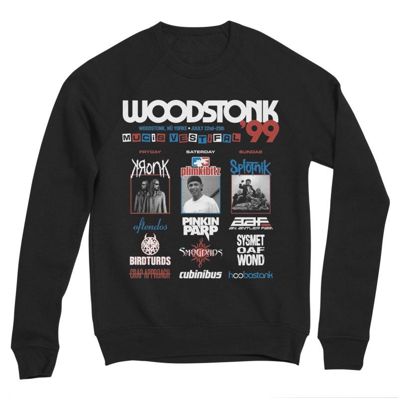 WOODSTONK '99 Women's Sponge Fleece Sweatshirt by Teenage Stepdad