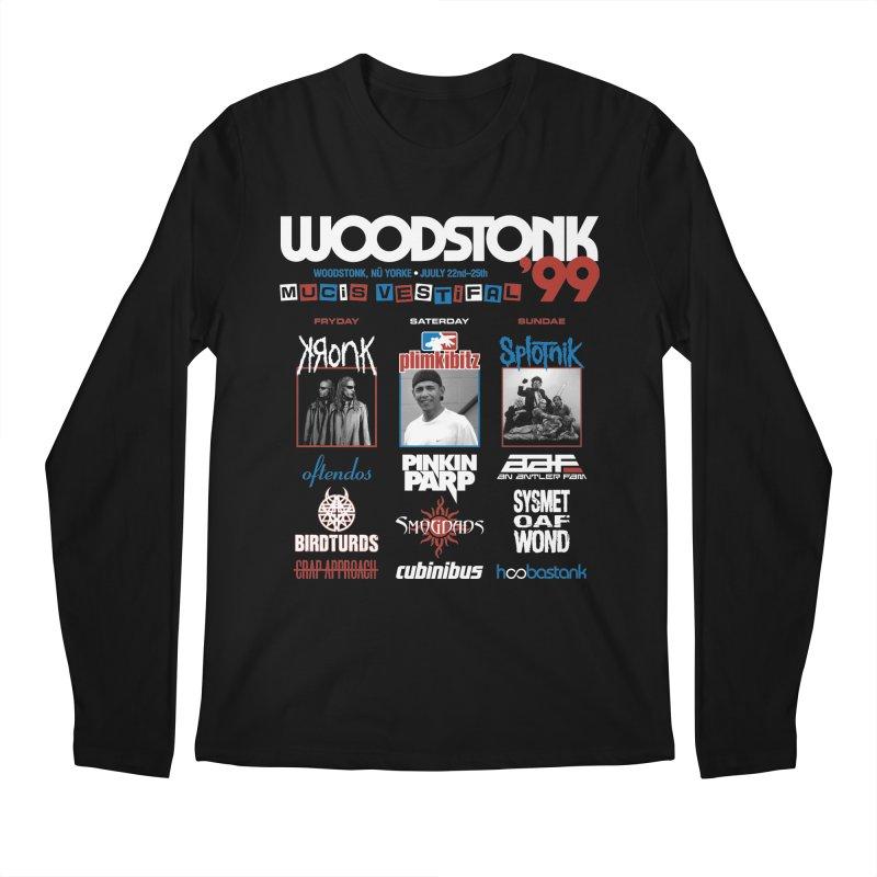 WOODSTONK '99 Men's Regular Longsleeve T-Shirt by Teenage Stepdad