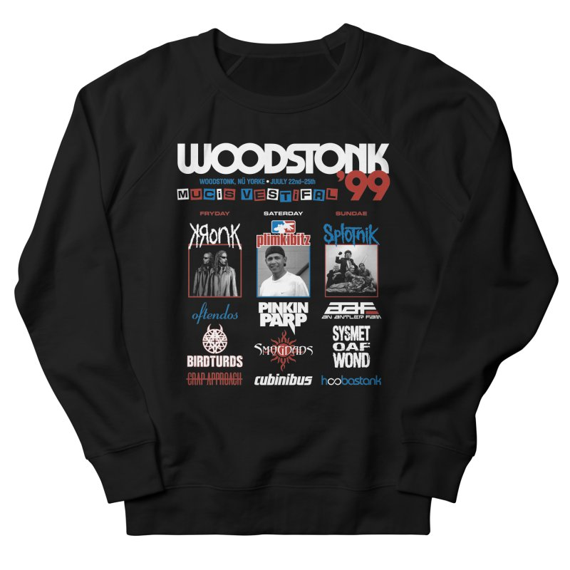 WOODSTONK '99 Women's French Terry Sweatshirt by Teenage Stepdad