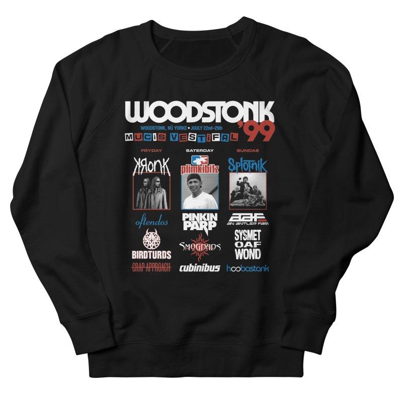 WOODSTONK '99 Men's French Terry Sweatshirt by Teenage Stepdad