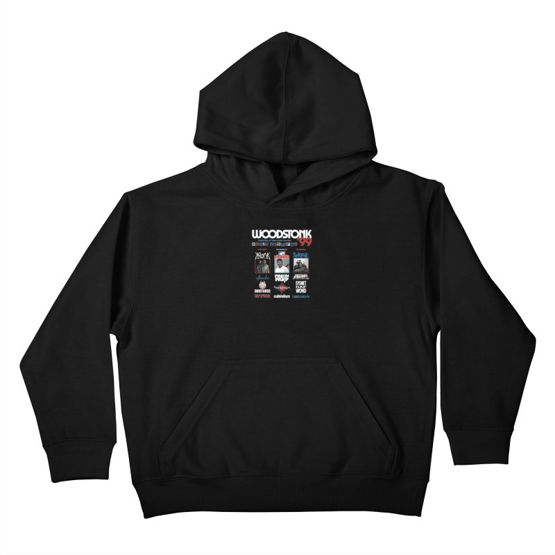 WOODSTONK '99 Kids Pullover Hoody by Teenage Stepdad