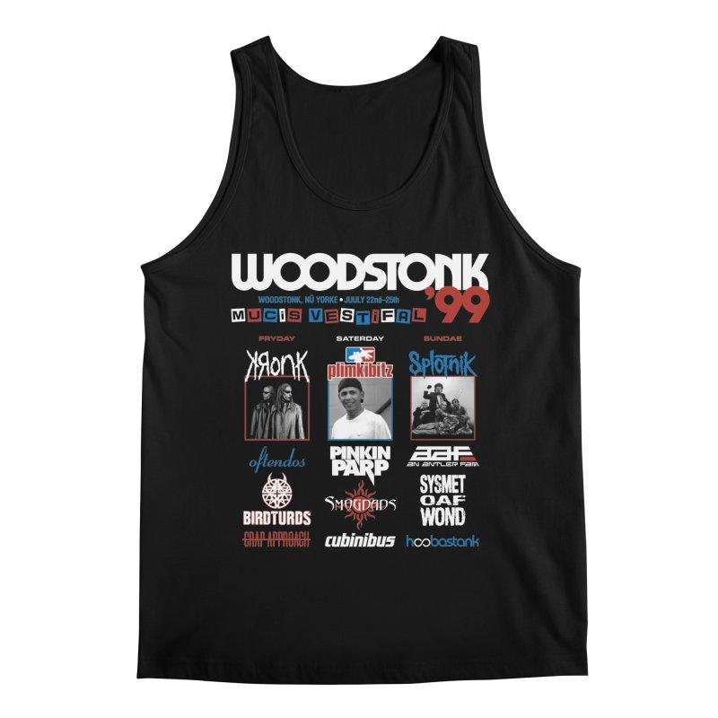 WOODSTONK '99 Men's Regular Tank by Teenage Stepdad