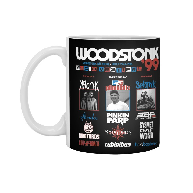WOODSTONK '99 Accessories Standard Mug by Teenage Stepdad