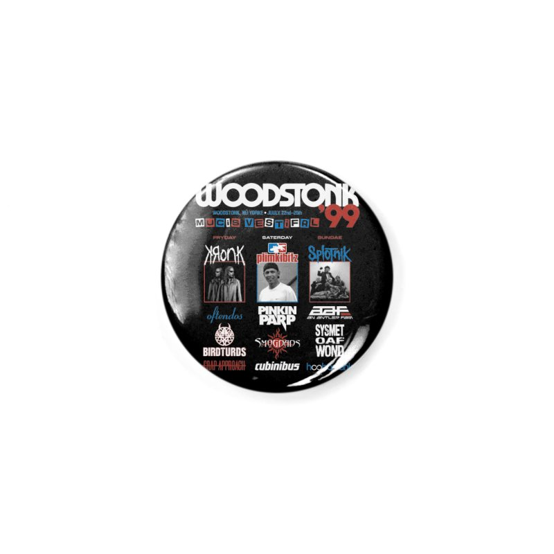 WOODSTONK '99 Accessories Button by Teenage Stepdad