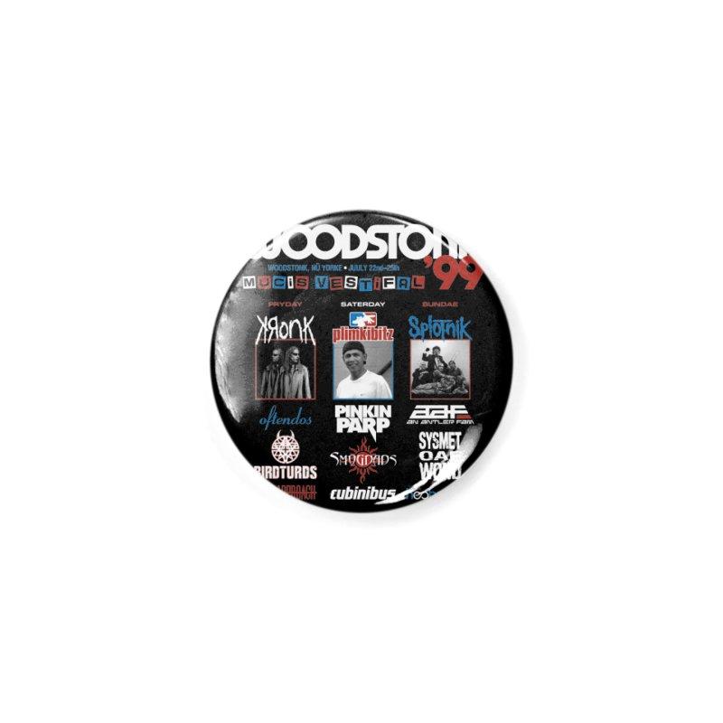 WOODSTONK '99 Accessories Button by Teenage Stepdad