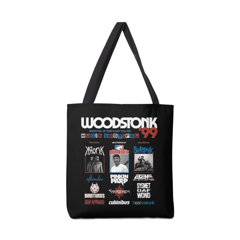 WOODSTONK '99 Accessories Tote Bag Bag by Teenage Stepdad