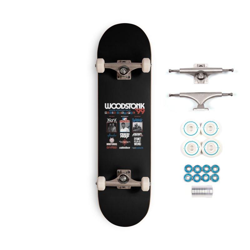 WOODSTONK '99 Accessories Complete - Basic Skateboard by Teenage Stepdad