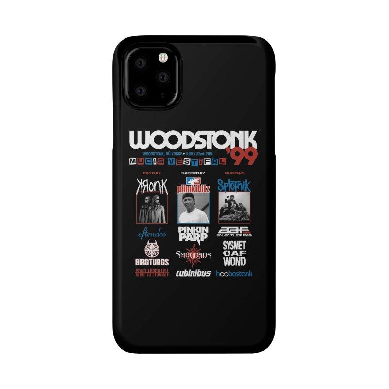 WOODSTONK '99 Accessories Phone Case by Teenage Stepdad