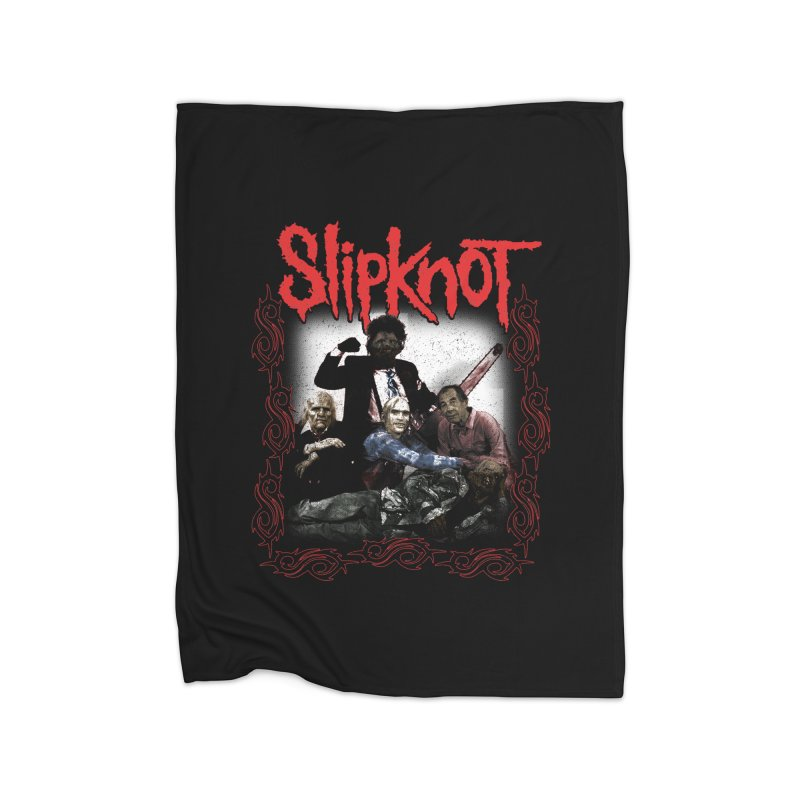 TEXAS NU METAL MASSACRE PART 2 Home Fleece Blanket Blanket by Teenage Stepdad