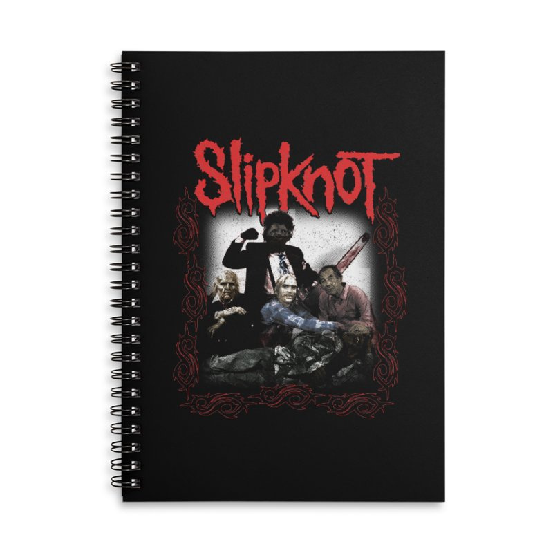 TEXAS NU METAL MASSACRE PART 2 Accessories Lined Spiral Notebook by Teenage Stepdad