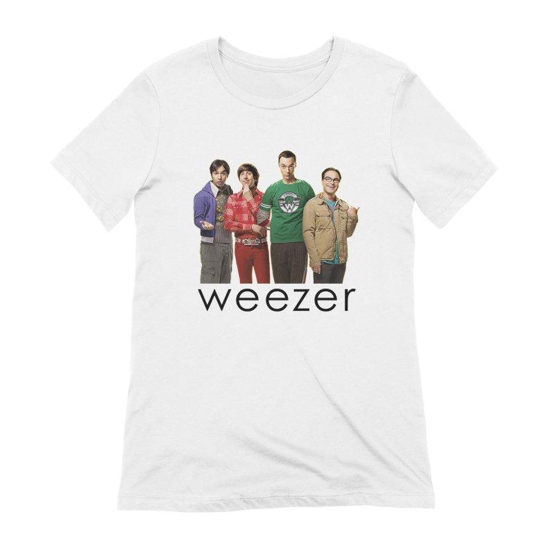 BAD BAND THEORY Women's Extra Soft T-Shirt by Teenage Stepdad