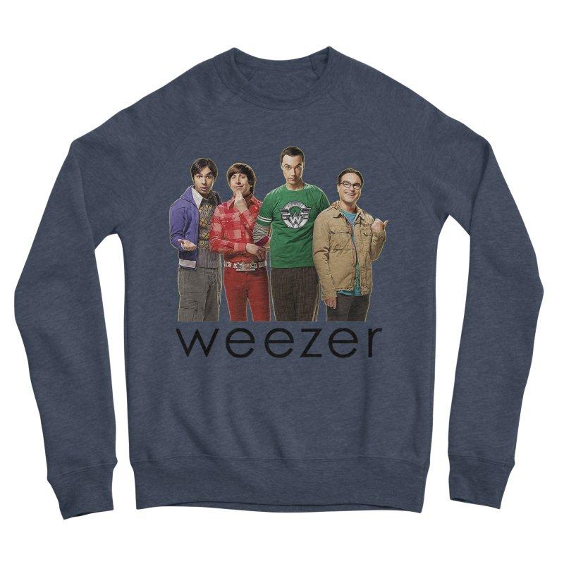 BAD BAND THEORY Men's Sponge Fleece Sweatshirt by Teenage Stepdad