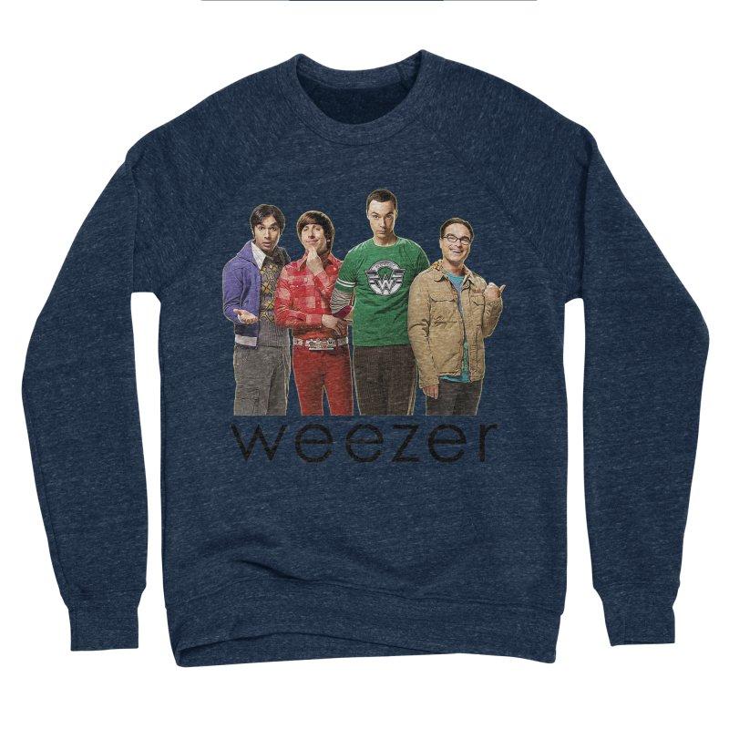 BAD BAND THEORY Women's Sponge Fleece Sweatshirt by Teenage Stepdad