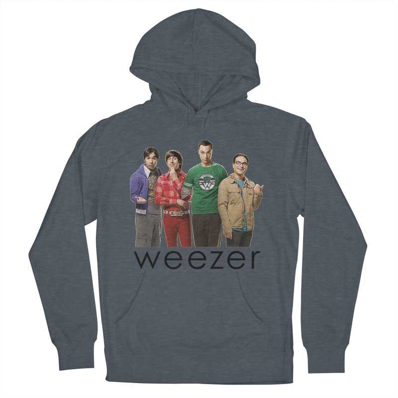 BAD BAND THEORY Women's French Terry Pullover Hoody by Teenage Stepdad