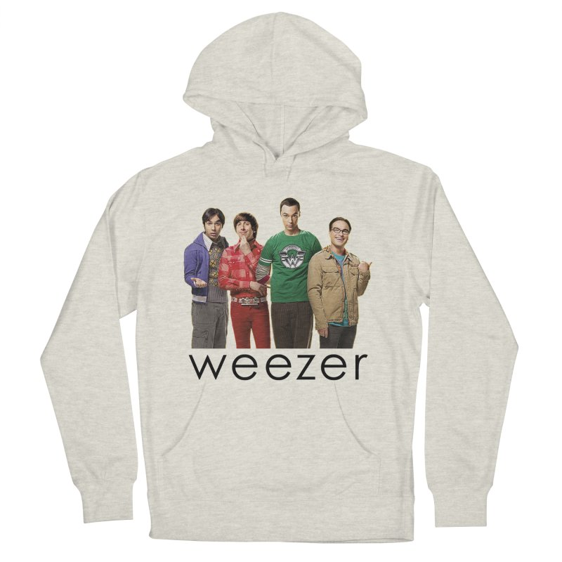 BAD BAND THEORY Men's French Terry Pullover Hoody by Teenage Stepdad