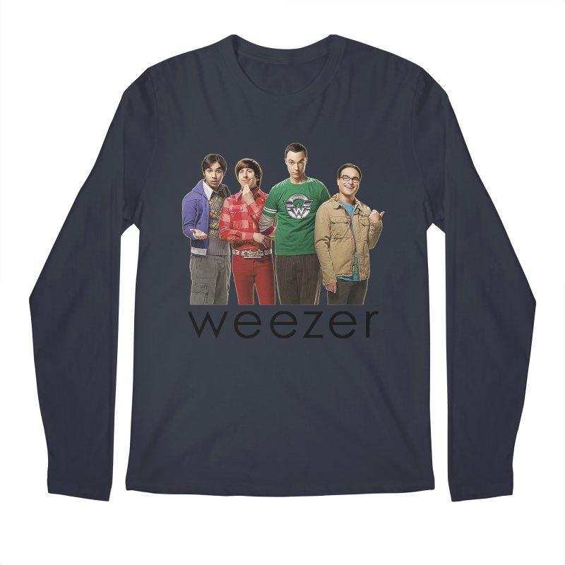 BAD BAND THEORY Men's Regular Longsleeve T-Shirt by Teenage Stepdad