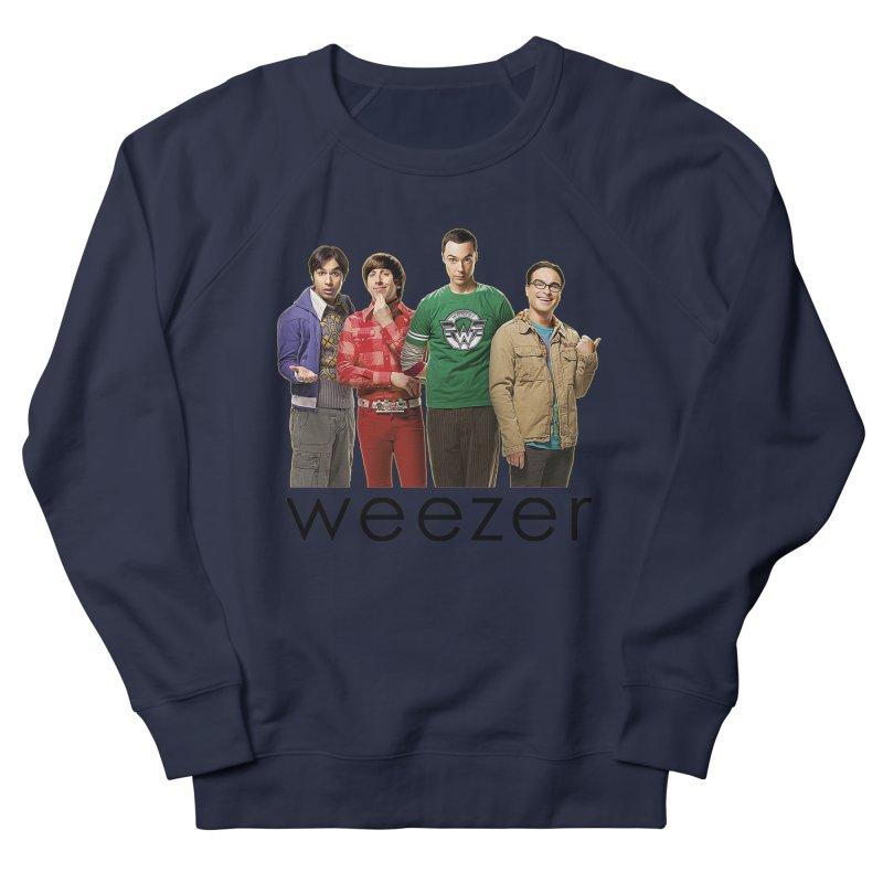 BAD BAND THEORY Women's French Terry Sweatshirt by Teenage Stepdad