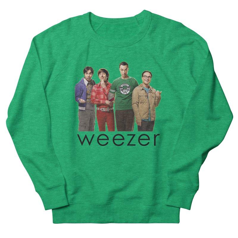 BAD BAND THEORY Men's French Terry Sweatshirt by Teenage Stepdad