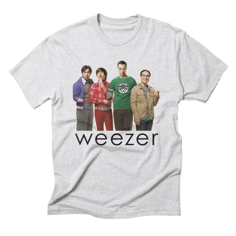 BAD BAND THEORY Men's Triblend T-Shirt by Teenage Stepdad