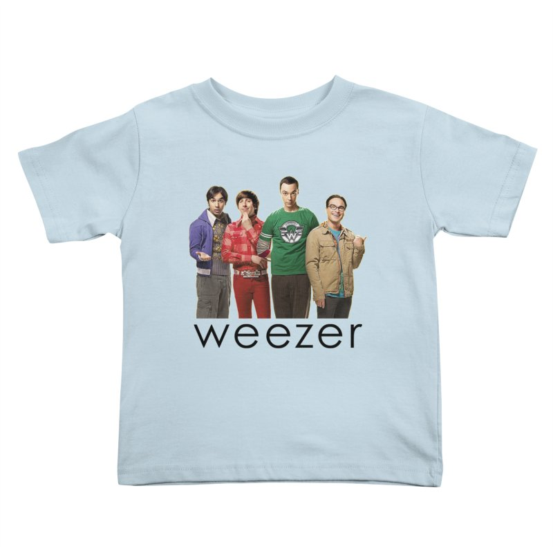 BAD BAND THEORY Kids Toddler T-Shirt by Teenage Stepdad