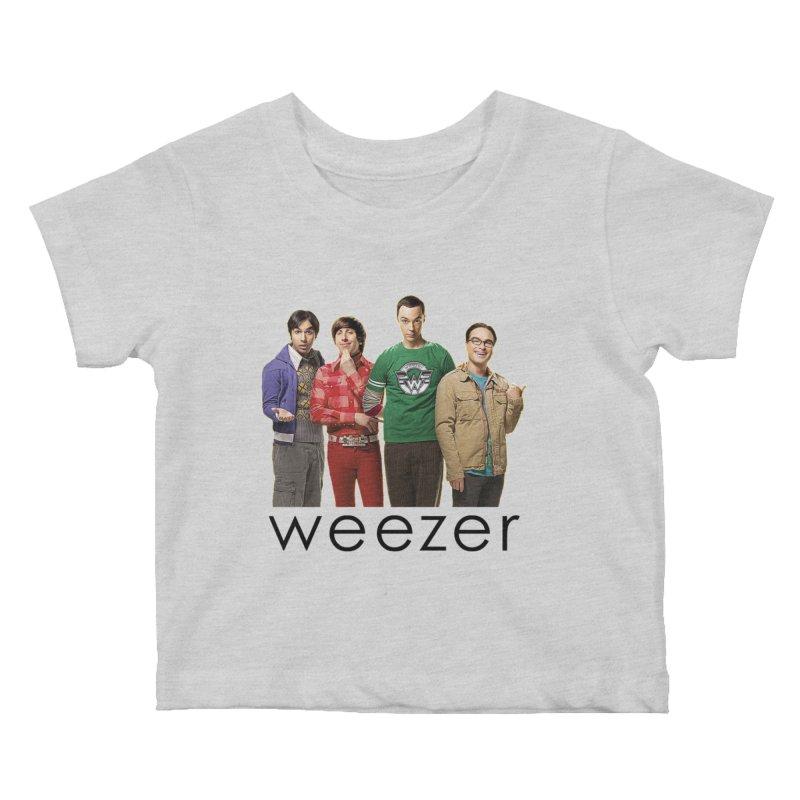 BAD BAND THEORY Kids Baby T-Shirt by Teenage Stepdad