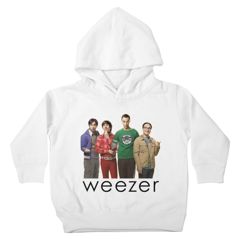 BAD BAND THEORY Kids Toddler Pullover Hoody by Teenage Stepdad