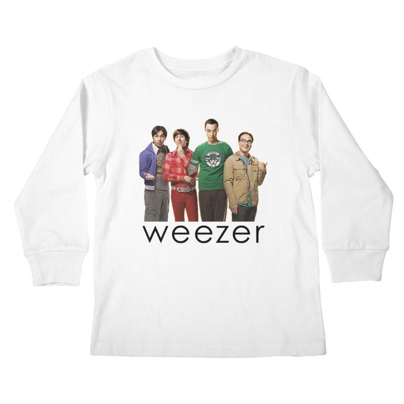BAD BAND THEORY Kids Longsleeve T-Shirt by Teenage Stepdad