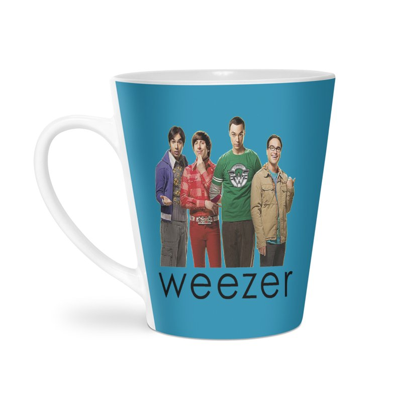 BAD BAND THEORY Accessories Latte Mug by Teenage Stepdad