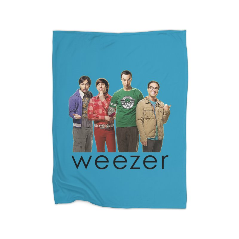 BAD BAND THEORY Home Fleece Blanket Blanket by Teenage Stepdad