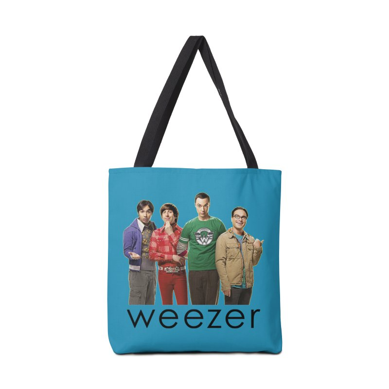 BAD BAND THEORY Accessories Tote Bag Bag by Teenage Stepdad