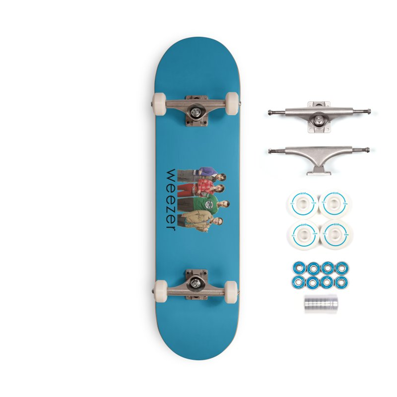 BAD BAND THEORY Accessories Complete - Basic Skateboard by Teenage Stepdad