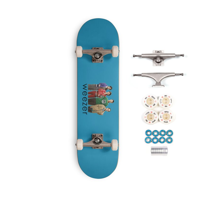 BAD BAND THEORY Accessories Complete - Premium Skateboard by Teenage Stepdad