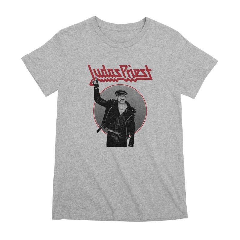 JUDAS FUNKE Women's Premium T-Shirt by Teenage Stepdad
