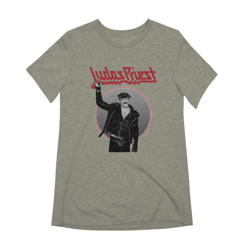 JUDAS FUNKE Women's Extra Soft T-Shirt by Teenage Stepdad