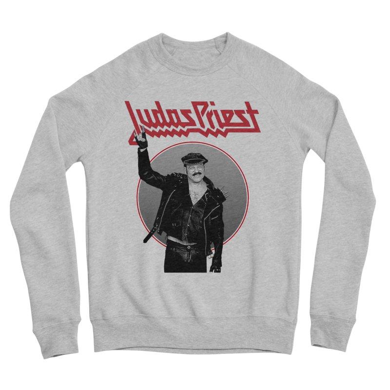 JUDAS FUNKE Women's Sponge Fleece Sweatshirt by Teenage Stepdad