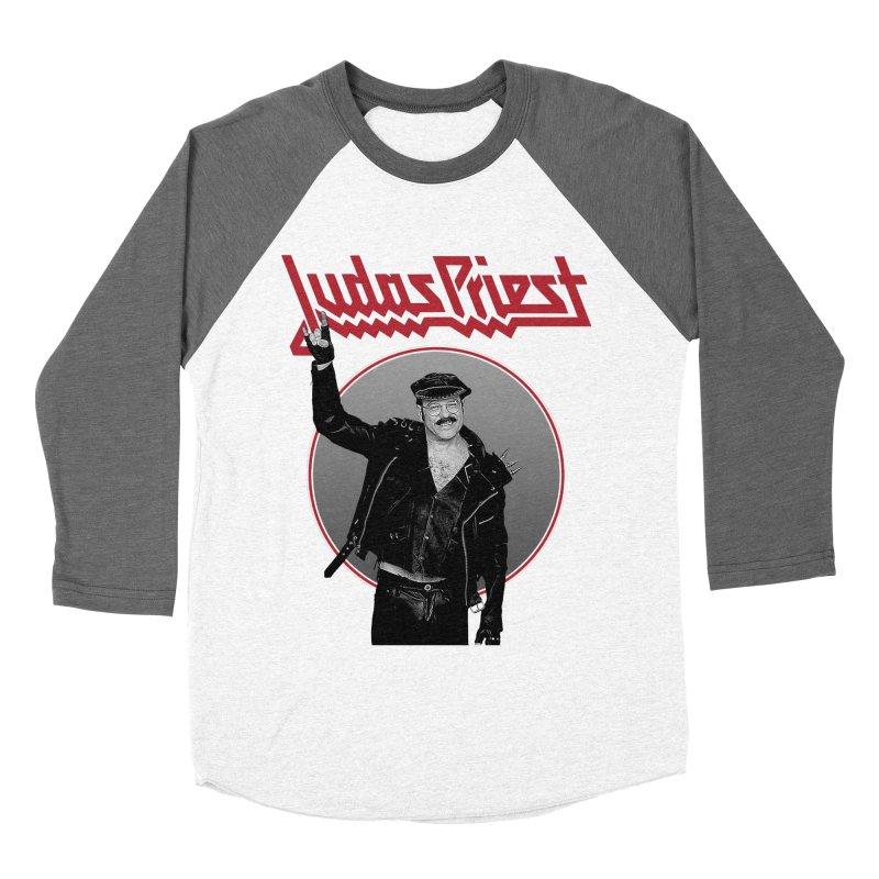 JUDAS FUNKE Men's Baseball Triblend Longsleeve T-Shirt by Teenage Stepdad