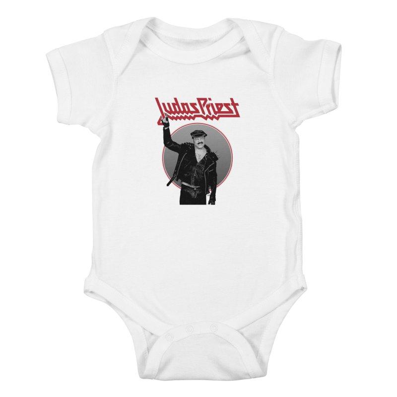 JUDAS FUNKE Kids Baby Bodysuit by Teenage Stepdad