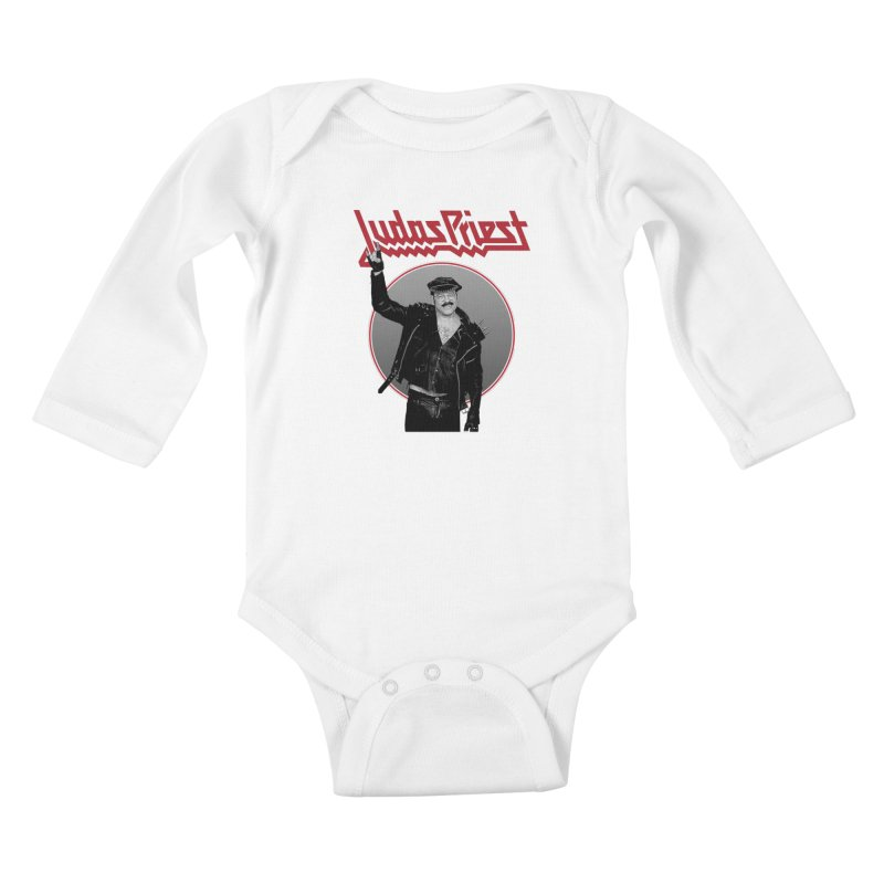 JUDAS FUNKE Kids Baby Longsleeve Bodysuit by Teenage Stepdad