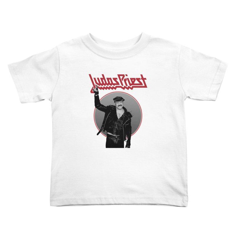 JUDAS FUNKE Kids Toddler T-Shirt by Teenage Stepdad