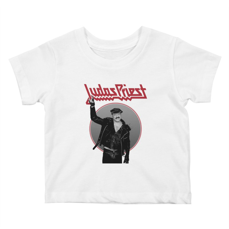 JUDAS FUNKE Kids Baby T-Shirt by Teenage Stepdad