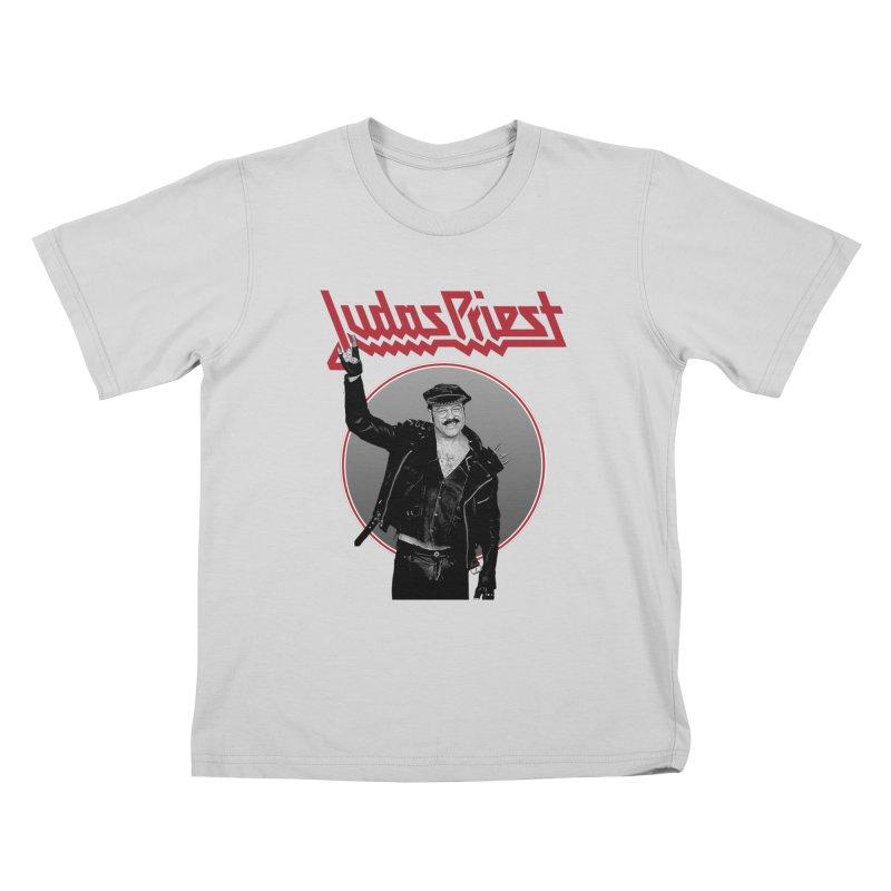 JUDAS FUNKE Kids T-Shirt by Teenage Stepdad