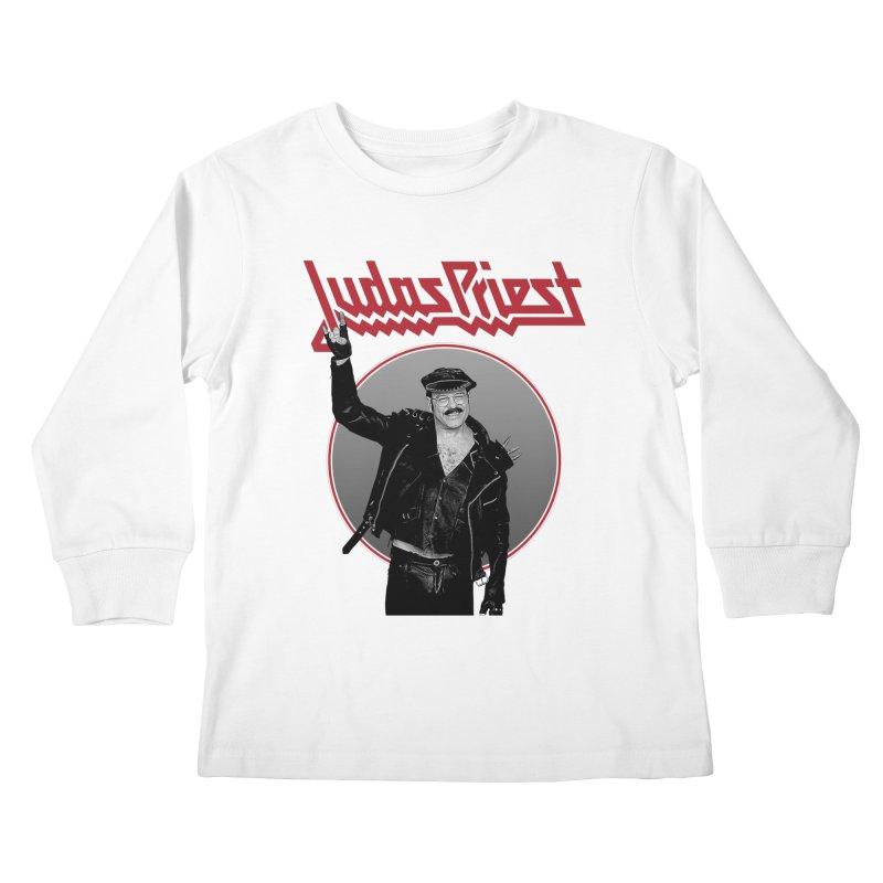 JUDAS FUNKE Kids Longsleeve T-Shirt by Teenage Stepdad