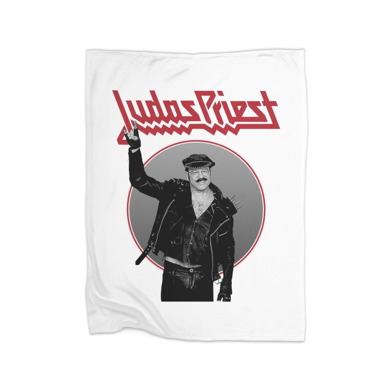JUDAS FUNKE Home Fleece Blanket Blanket by Teenage Stepdad
